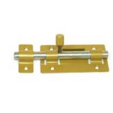 Задвижка дверная ЗД-01(золото)