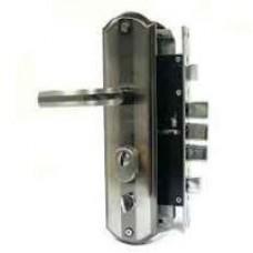 213R Замок врезной (б/цил.)прав. для стальн. дверей
