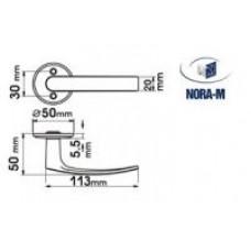 Нора-М Ручка для финских двер. 116 (золото) /006 PB
